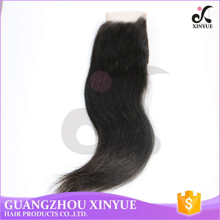 7A Quality Indian Human Hair Straight Lace Closure