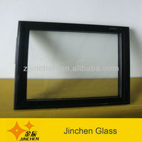 PVC frame with tempered glass reach in home appliance