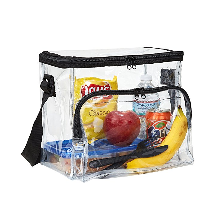 Clear Insulated Thermal Lunch Bagg for Kids