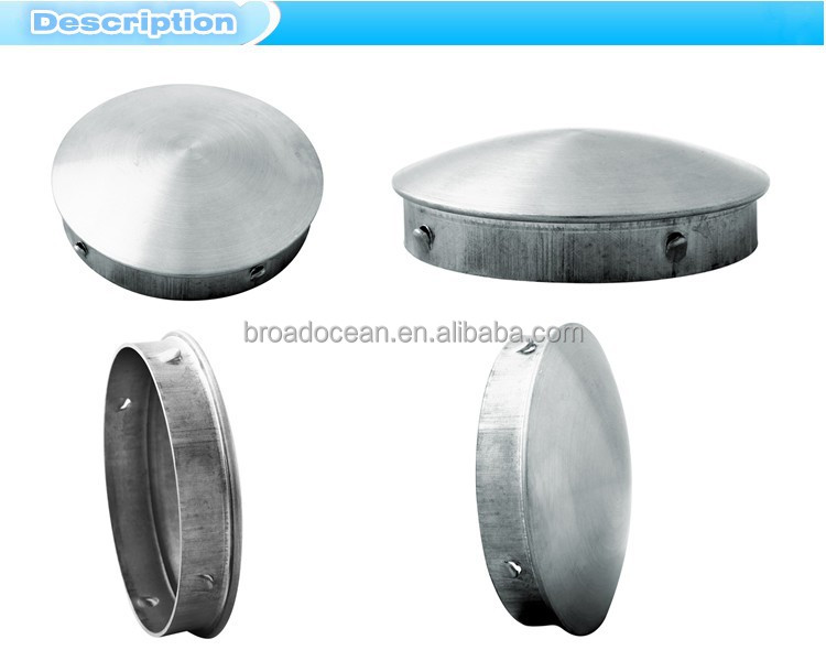 Stainless steel copper pipe threaded end cap metal