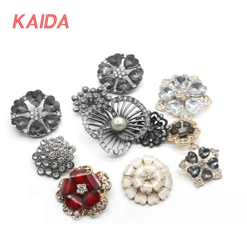 c8c6e5393a0 Brooches Jewelry Type decoration button Diamante crystal rhinestone brooch  pins for coat