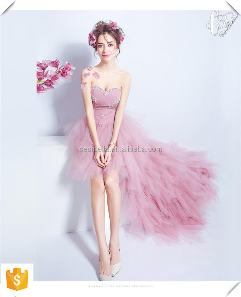 Comercio al por mayor más nuevo amor barato bodas vestidos de dama ...