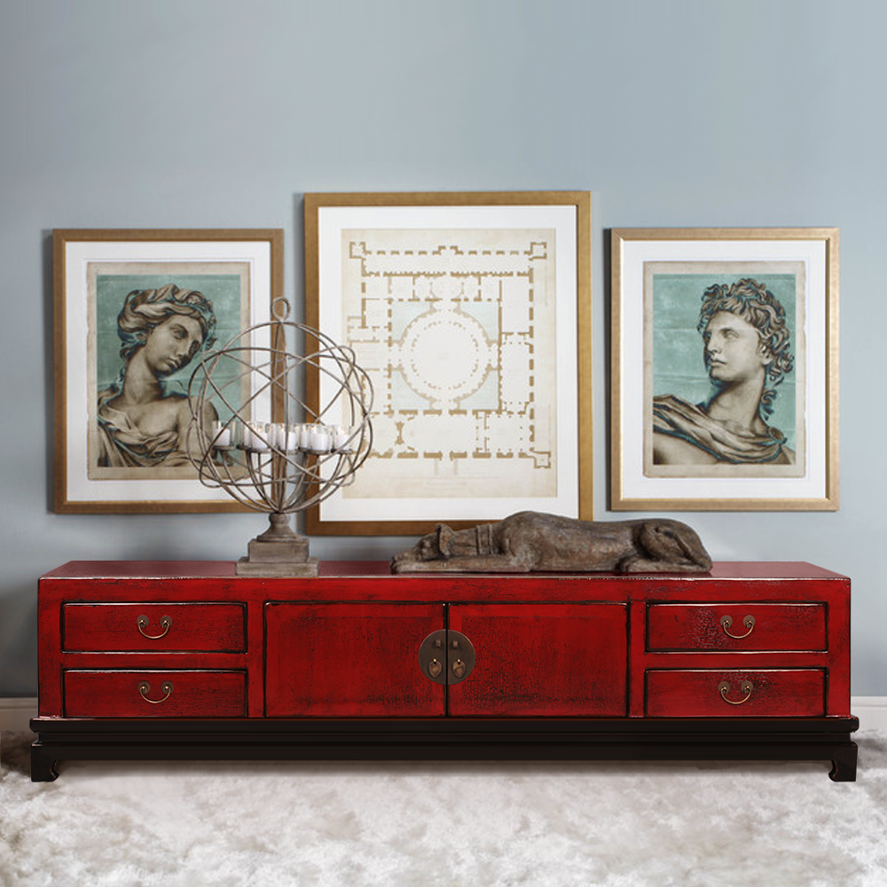 Discount Vintage Furniture: Wholesale Antique Reproduction Old Distressed Painted