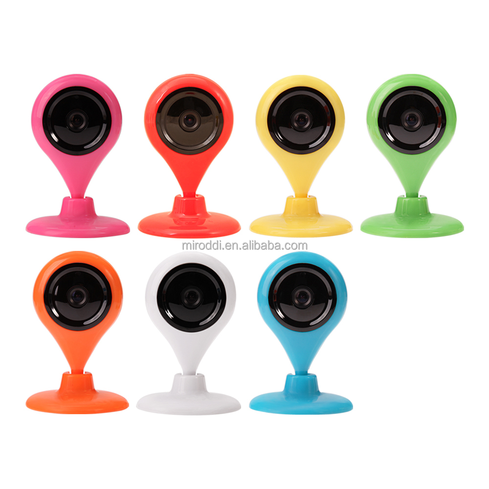 Easy to instal ip baby camera night vision 720p 1.0mp cmos wireless ip camera