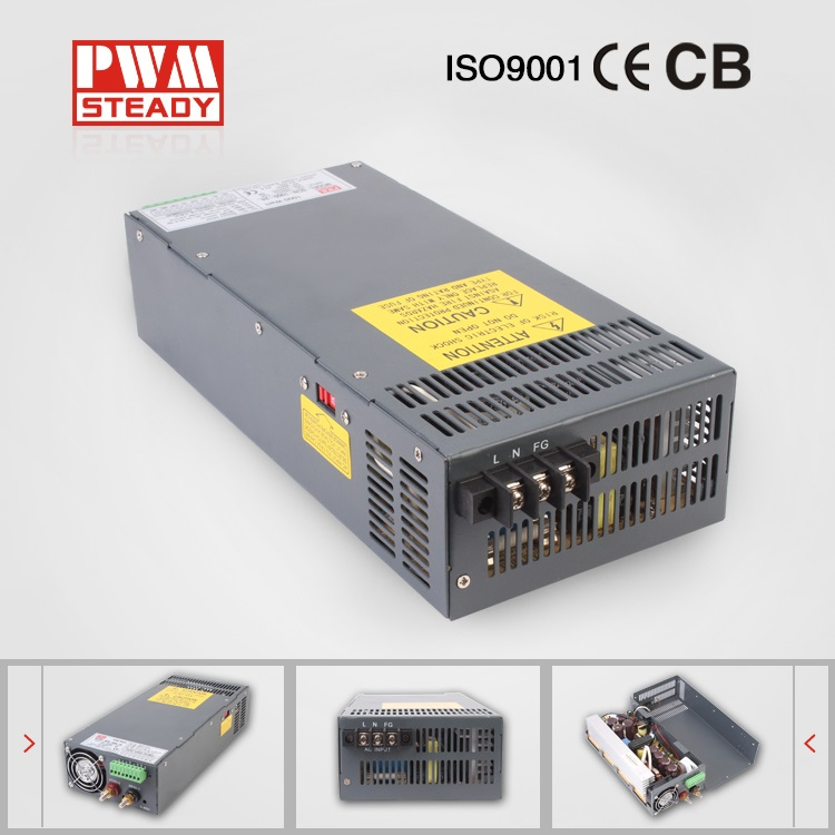SCN-1000-24 Stable DC voltage source 24v 1000w led power supply 24vdc switching power supply psu 1000w