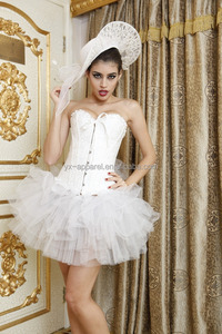 outwear sexy corset tops for party women corset with tutu dress corset dress
