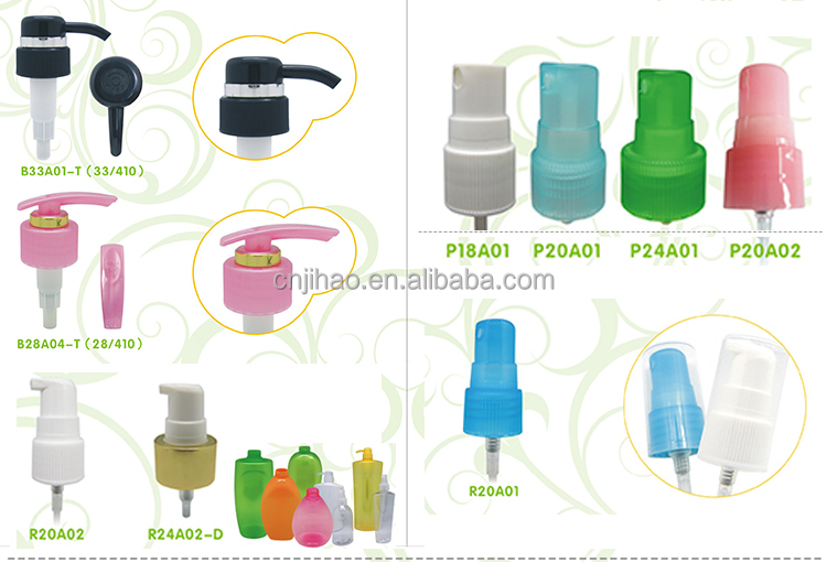 Plastic 28/410 Cosmetic Lotion Pump Cream Pump for plastic bottle