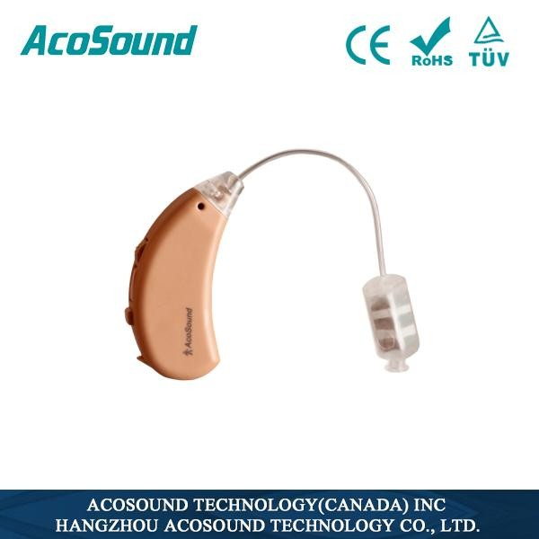 Affordable Hearing Aids digital BTE With Slim Tube for mild to severe hearing loss