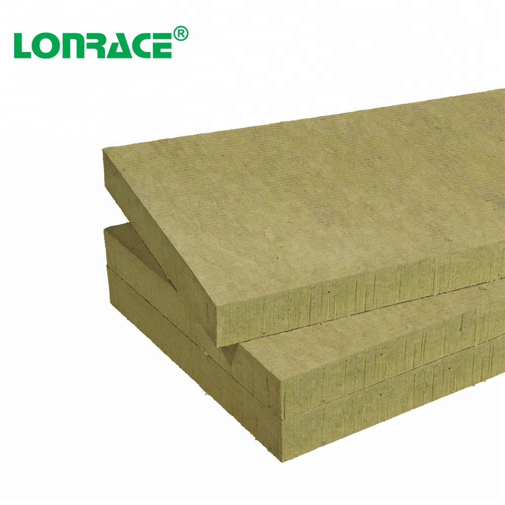 Professional Manufacturer Heat Insulation Thickness 100Mm Insulated Sheet/Rock Wool Board