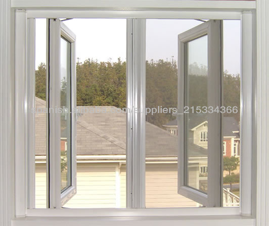 6063 t5 ventana abatible de aluminio en polvo de color de for Colores de aluminio para ventanas