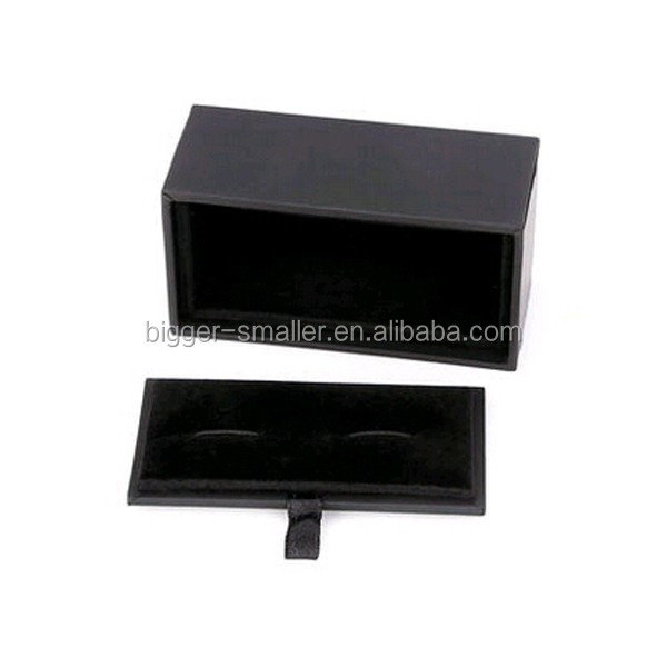 Wholesale Fancy Steel Color Stainless Steel Button Cover Cufflink 1 piece paper gift boxes