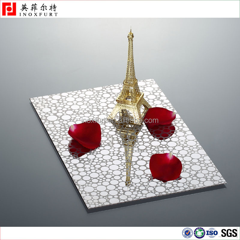 Decor 3d Panel Stainless Steel Sheet Metal Etching