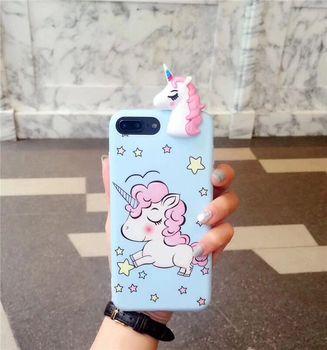 iPhone 8 Plus Pink Unicorn Case