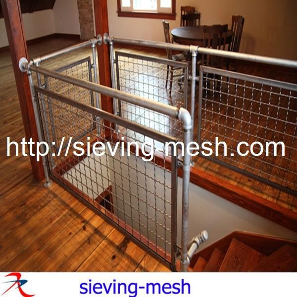 Treppe dekorativen gitter/treppe dekor mesh/edelstahldekorfüllung ...