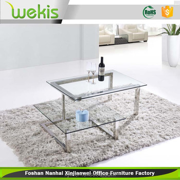 Small Size Living Room Furniture Design Glass Top Center Tea Table Design -  Buy Glass Tea Table Design,Living Room Furniture Design Tea Table,Glass ...