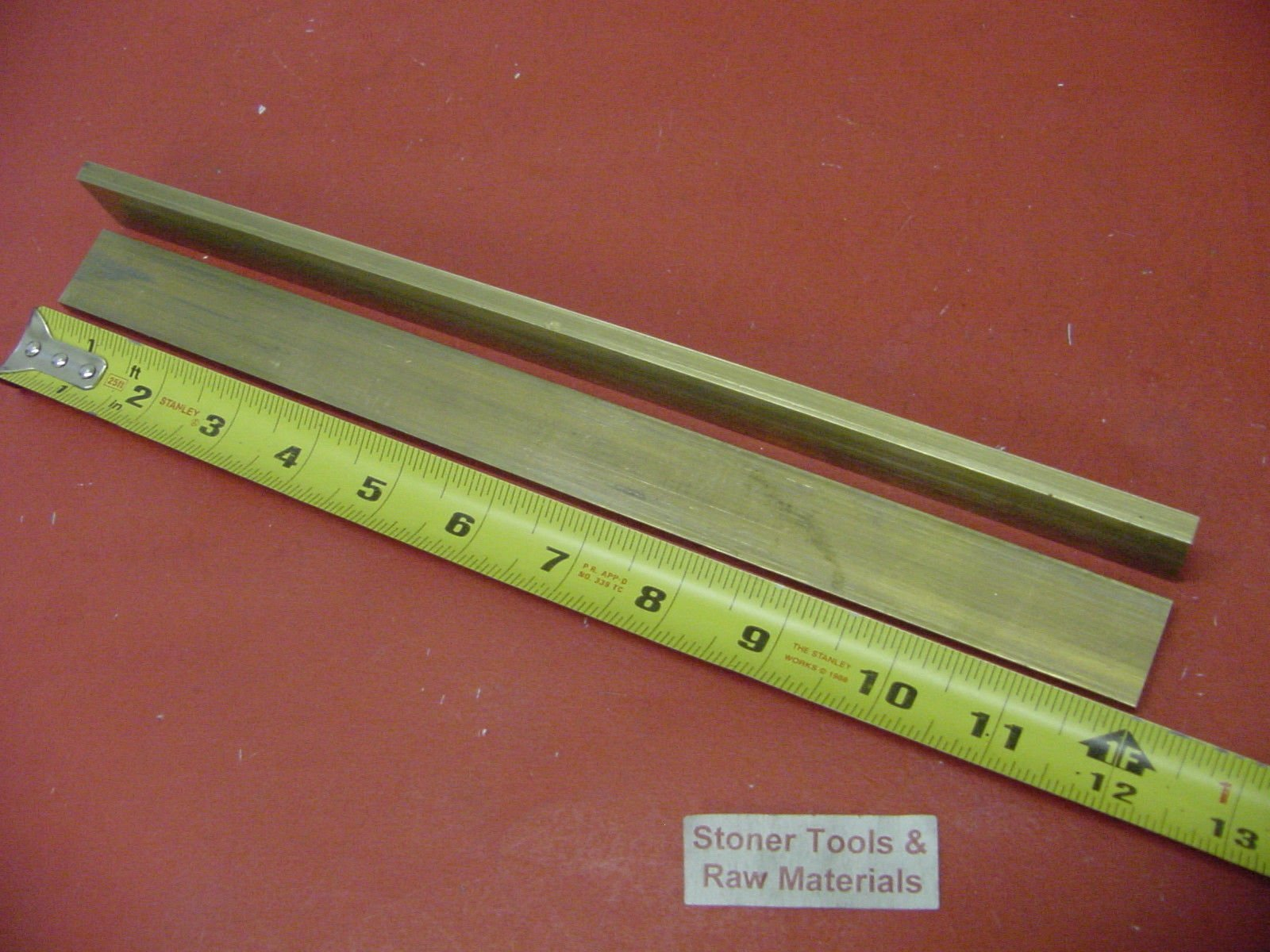 """6 Pieces of 1//4/"""" C360 BRASS SOLID ROUND ROD 14/"""" long .250/"""" Lathe Bar Stock"""