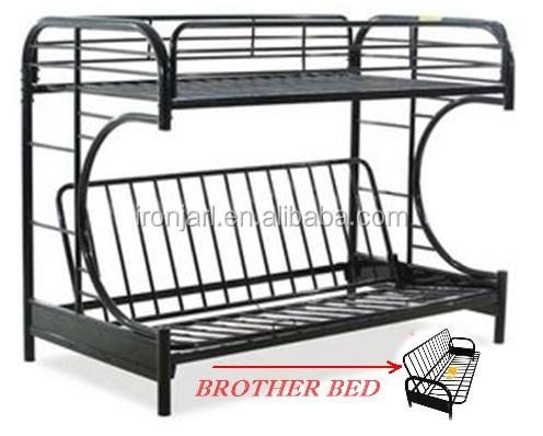 Mordern metal frame double deck bunk bed buy adult metal for Cheap double deck bed