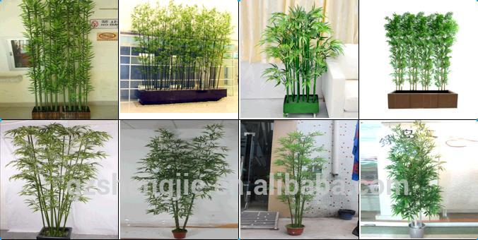 Factory Hot Artificial Bamboo Fence Decoration Stick