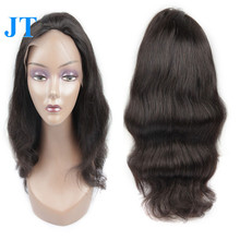 Body Wave Style Gradual Mix Ombre Color Virgin Hair Wigs With Full Lace Cap