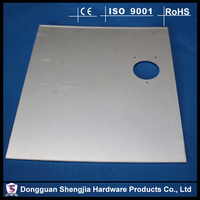 Shiny Stamping parts aluminum flat sheet fabrications