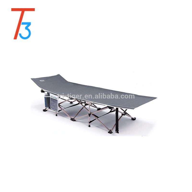 Складывающаяся и одноразмерная стальная портативная складная кровать/складная кровать для кемпинга