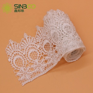Colorful Embroidery Tulle Flower Garment Lace Trim