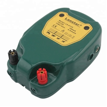 0.5J Electric Fence Energizer/Charger/Controller for Animal Containment, Battery, Solar Power and Main Power Optional