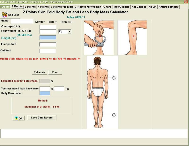 Free Online Body Fat Calculator 15