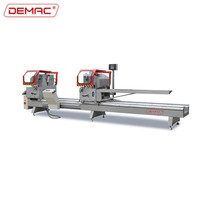 Aluminum profile double head miter saw machine