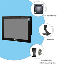 Hot selling Fanless Industrial Touch Screen Panel PC 10 inch J1900 CPU