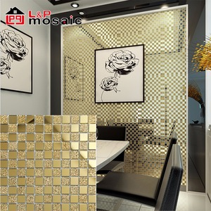 Hot sale mirror glass mosaic tile for luxury wall decoration
