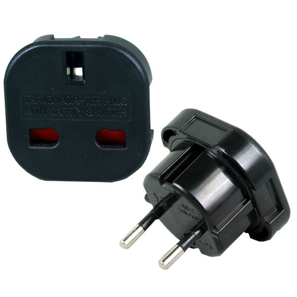 wonplug brand uk to european plug converter adapter with CE ROHS