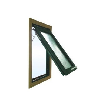 Window Grill Design UPVC Top Hung Window UPVC Awning Window
