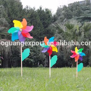 Decoration Ornament New style New Design plastic garden windmills