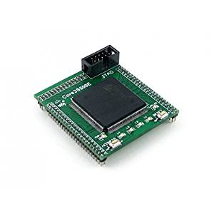 Angelelec DIY Open Sources Sensors, Core3S500E, Xilinx Core Board, Core3S500E is an FPGA Core Board That Features an XC3S500E Device Onboard, Supports Further Expansion, Integrated FPGA Basic Circuit