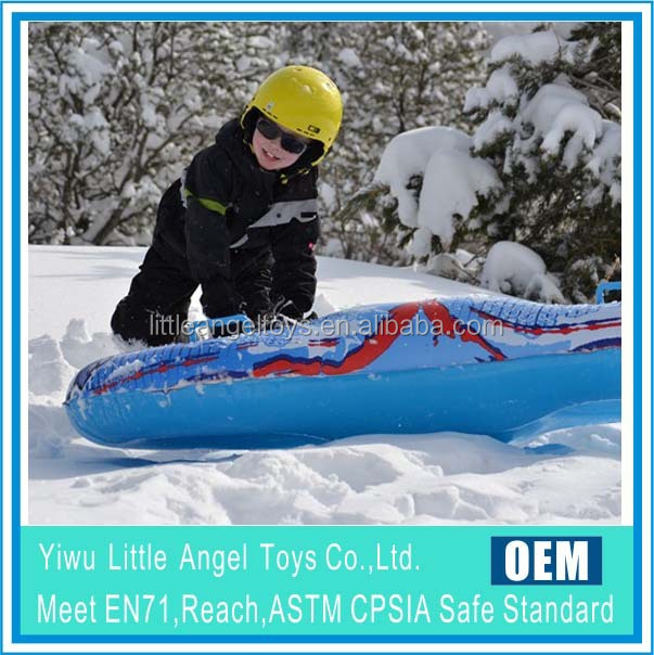 PVC Winter Toys , Inflatable Snow Tube, Inflatable snow sledge