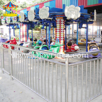 Factory directed family amusement rides flying tiger equipment for sale