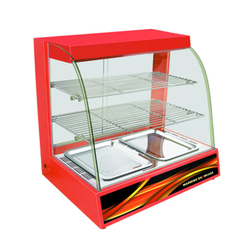 Commercial electric glass display food warmer/ warming showcase BV-808