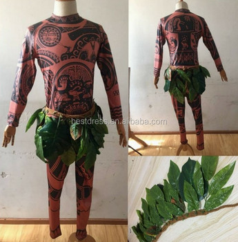 walson maui tattoo t shirt and pants halloween adult mens women cosplay costume