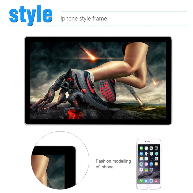42 inch wall mount lcd touch network Android digital signage