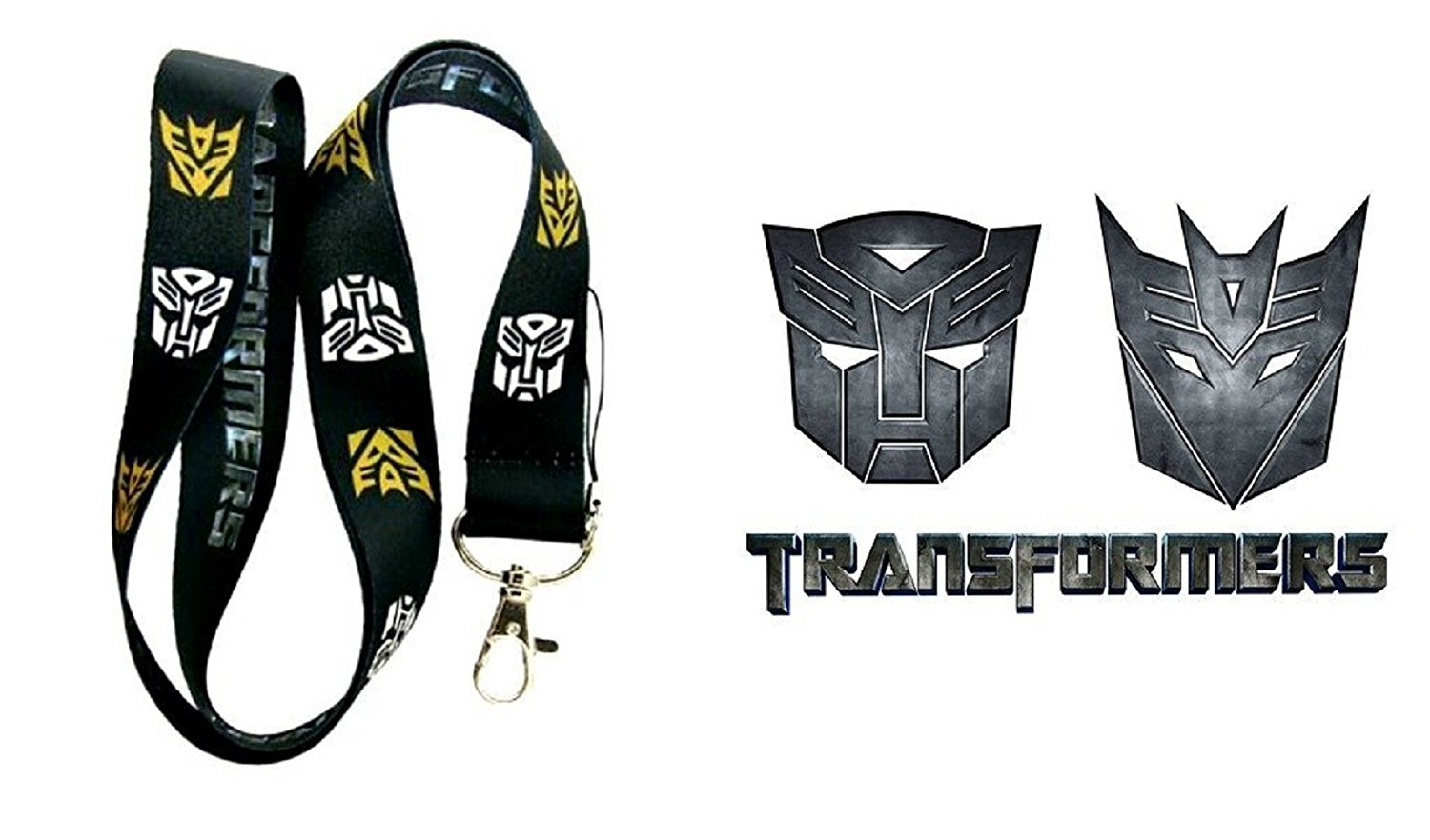 Transformers Lanyard Key Chain Neck Strap ID Badge Holder