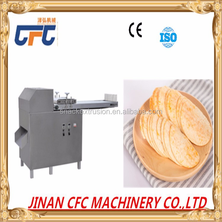 Hot sale Full Automatic Fresh Potato Powder Baked Potato Chips Making Machine Factory