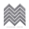 Latin Gray And WhiteThassos Marble Floor Patterns
