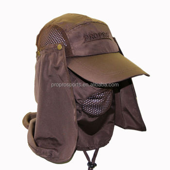 67328ceb4cd Outdoor Jungle Fishing 360 Degree UV Protection Sun block Hat Folding Visor  Nylon Cap Mesh Bucket