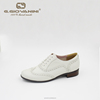 Soft sheepskin fashion white leather White Lady business Shoes dress shoes