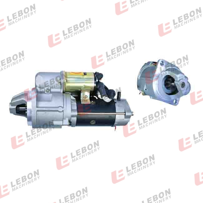 Auto engine parts electric motor/bosch starter motor prices for PC60-6 600-813-4411