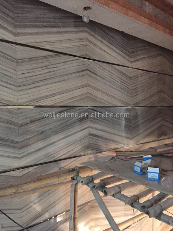 Top Quality Italian Serpeggiante Wood Grain Marble For