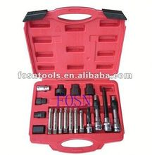 2014 Alternator Freewheel Pulley Removal Set 18pcs Alternator Car Tools Set car snow chain
