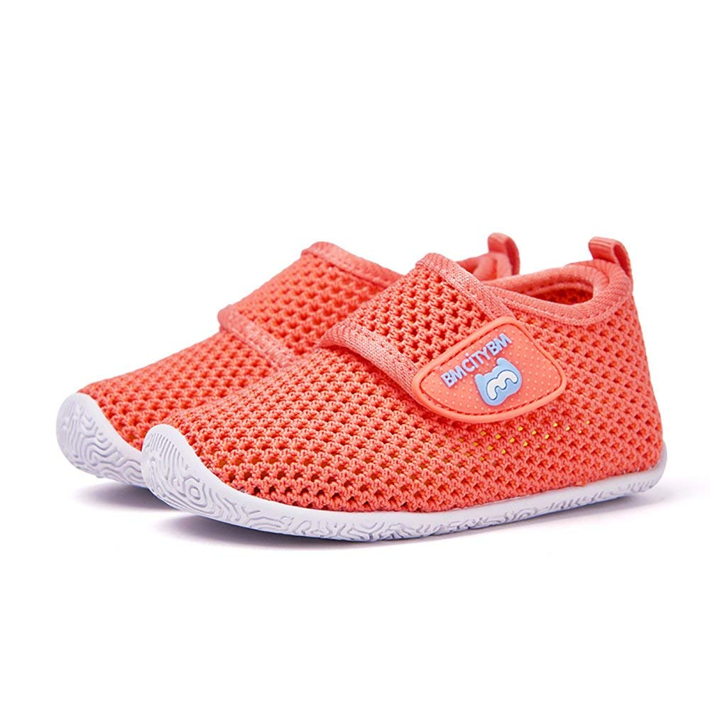 22161ae5815d Get Quotations · BMCITYBM Baby Shoes 6 12 Months Breathable Soft Sole  Rubber Sneaker Summer