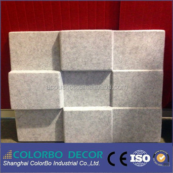 General Noise Control Applications Anti Sound Wall Panel For Office Rooms